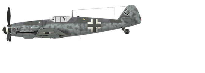 Bf 109 G-6 Late